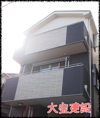 埼玉県 新築戸建住宅へUVフロアコーティング  大宝建設vr.