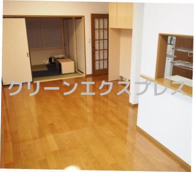 神奈川にて新築(一条工務店)へUVフロアコートEcoを施工