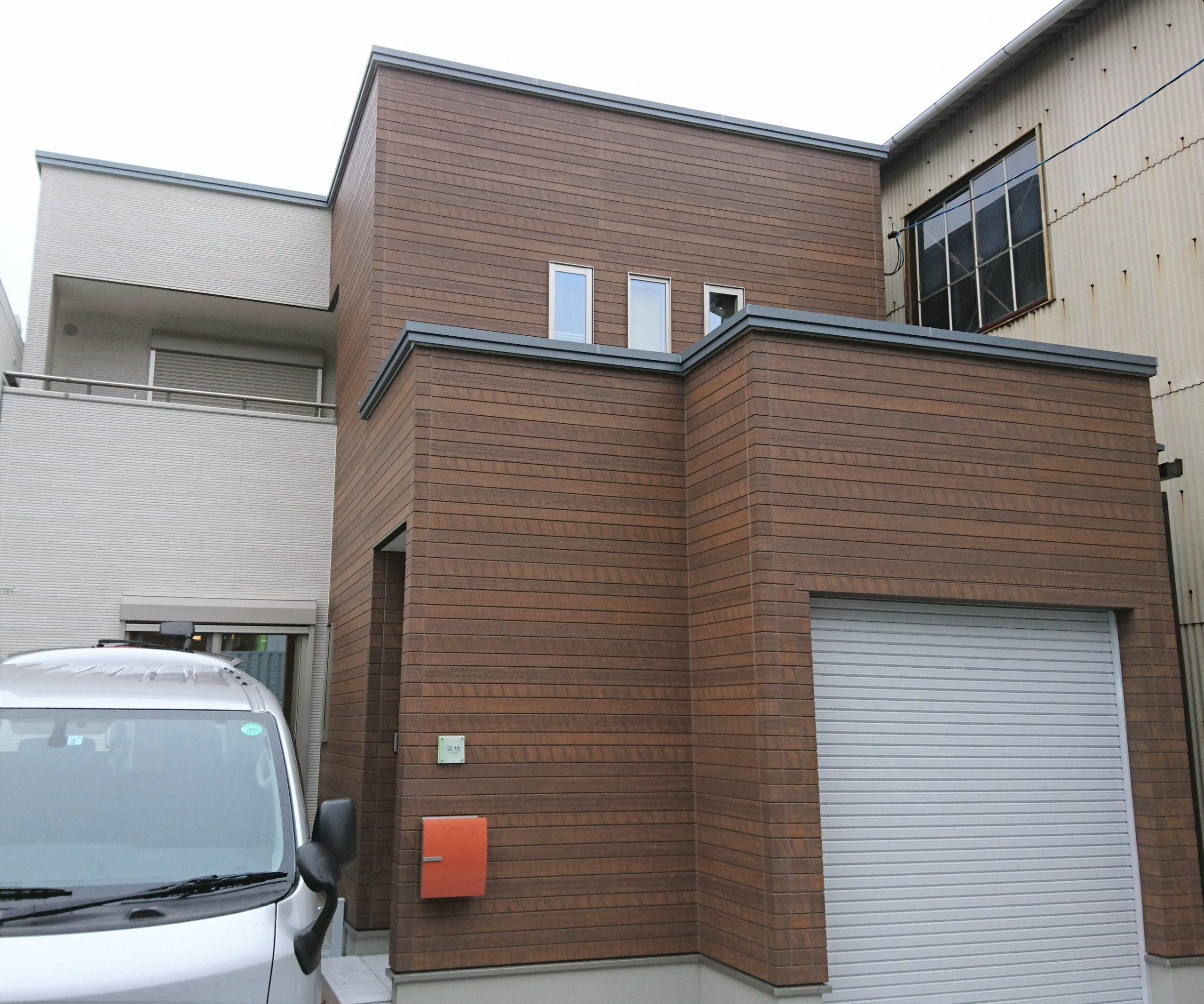 新築戸建住宅へUVフロアコーティングin広島