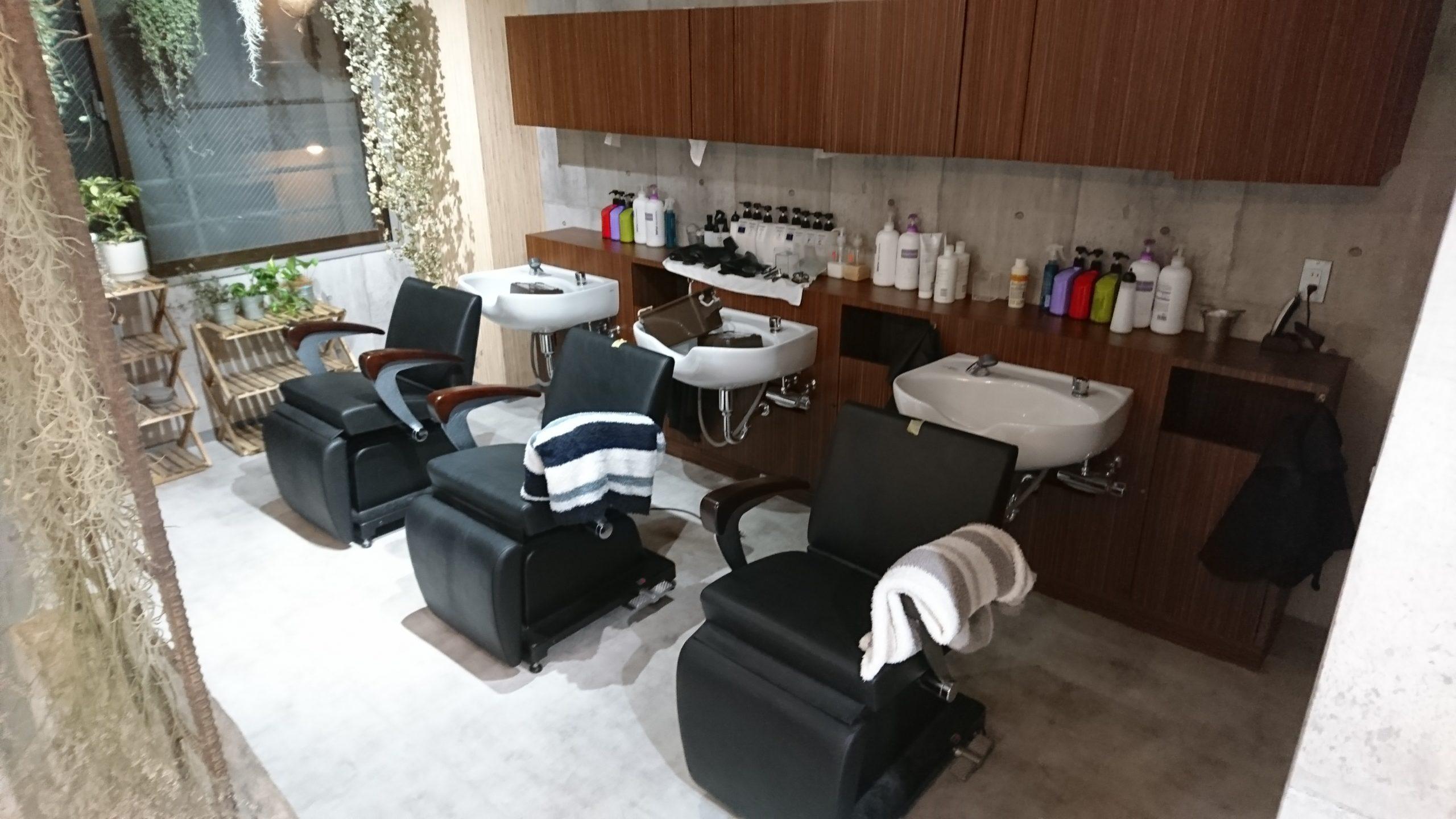 京都にある美容室にUVコーティングを施工!