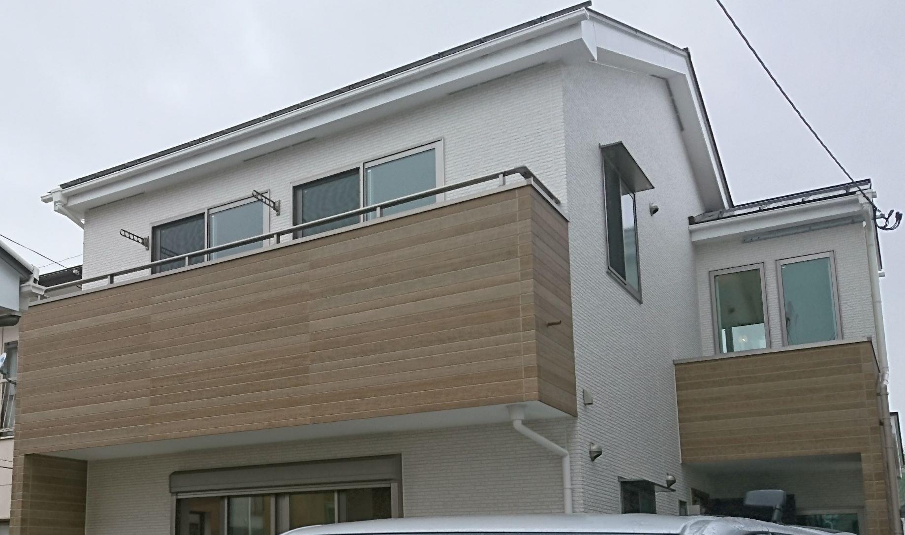 仙台市の戸建て住宅へUVフロアコーティングを施工