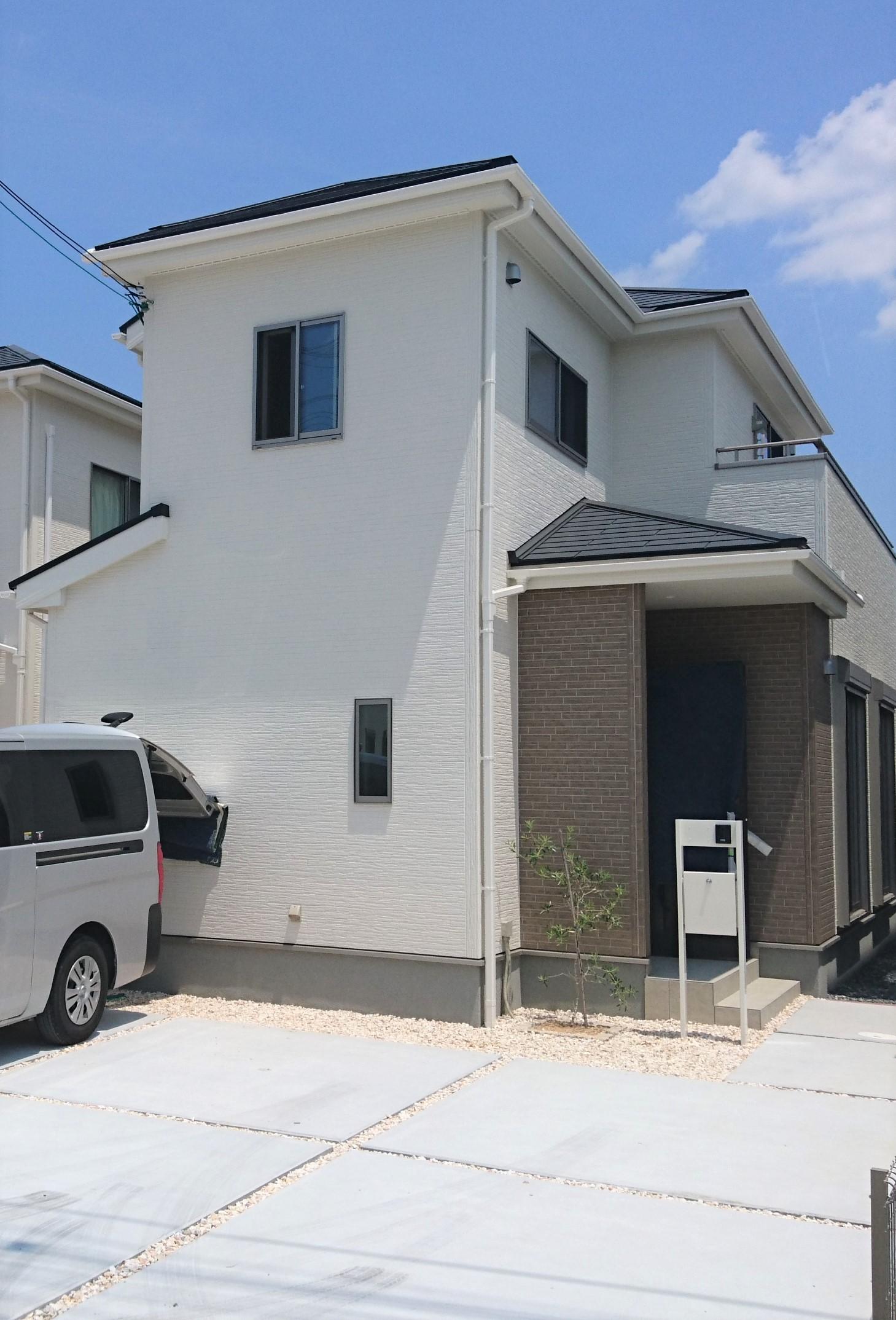 兵庫県で一建設の新築住宅へUVフロアコーティング